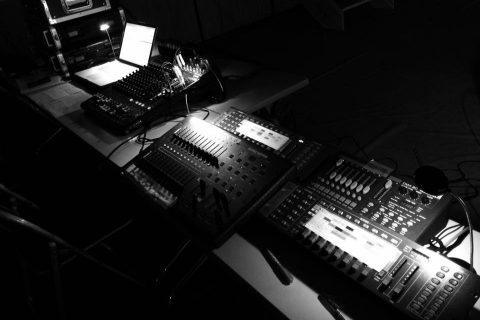 学園祭で使用した音響・照明機材